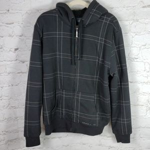 O'Neill sherpa style lined hoodie size Large